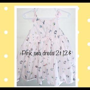 Pink sea dress